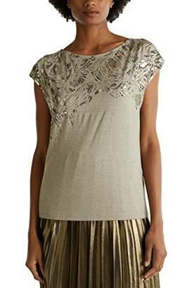 Esprit Women's 010eo1k302 T-Shirt,X-Small