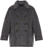 Brunello Cucinelli Prince of Wales-checked wool-blend jacket