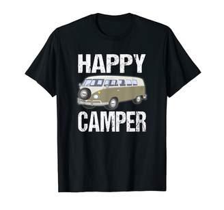 Camper Camping Gear Happy  Van T-Shirt