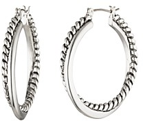 Ralph Lauren Ralph Twist & Spiral Hoop Earrings
