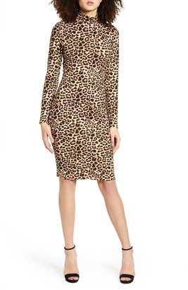 Leith Long Sleeve Body-Con Dress