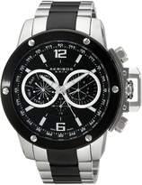 Akribos XXIV Men's AK604SSB Conqueror Multi-Function Stainless Steel Swiss Quartz Bracelet Watch