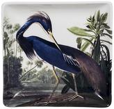 Magpie Heron Trinket Tray, Blue/White