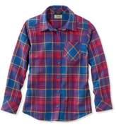 L.L. Bean Girls' Flannel Shirt, Plaid
