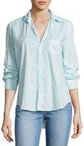 Frank And Eileen Eileen Long-Sleeve Button-Front Shirt, Aqua