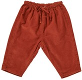 Caramel Baby & Child Baby Carnelian Velvet Trousers