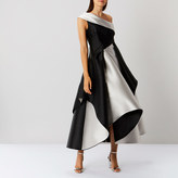 Coast Heidi Drape Mono Full Dress