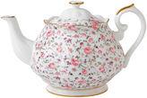 Royal Albert Rose Confetti Vintage Teapot