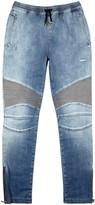 Balmain Light Blue Slim-leg Jeans