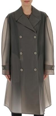 Maison Margiela Double-Breasted Raincoat