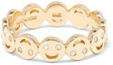 Alison Lou All Happy 14-karat Gold Diamond Ring - 6 3/4