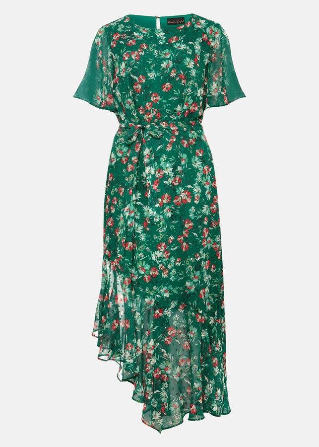 Thumbnail for your product : Phase Eight Coralee Textured Floral Dress
