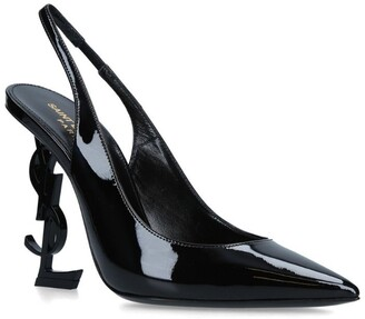 Saint Laurent Patent Slingback Opyum Pumps 110