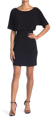 Tash + Sophie Dolman Sleeve Jersey Sheath Dress
