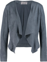 Tart Collections Sybil draped faux suede jacket