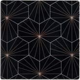 Maxwell & Williams Tessellate Ceramic Tile Coaster, Aster, Black