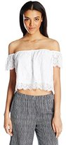 Show Me Your Mumu Women's Ella Cap Sleeve Top
