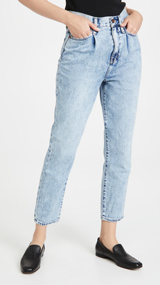 Madewell Mom Jeans with Pleats