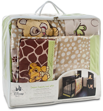 Disney Lion King Crib Bedding Set for Baby - Personalizable