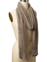 The Limited Shiny Knit Scarf