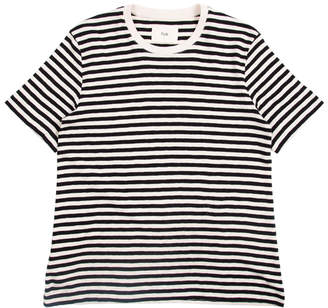 Folk CLASSIC STRIPED T SHIRT ECRU/BLACK - extra small | cotton | black | ecru - Black/Black