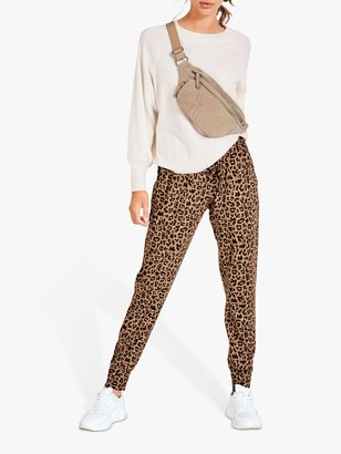 Hush Amie Joggers, Leopard