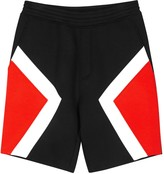 Neil Barrett Abstract Modernist Colour-block Neoprene Shorts