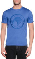 Stefano Ricci Tonal Logo-Graphic Short-Sleeve T-Shirt