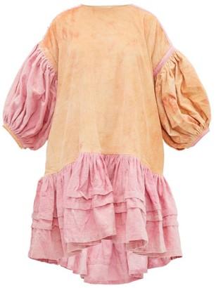 Story mfg. Verity Organic-cotton Corduroy Dress - Pink