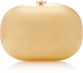 Jeffrey Levinson Satin Metallic Clutch