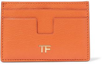 Tom Ford Leather Cardholder - Orange