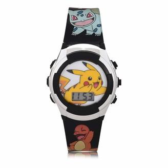 Pokemon Kids' Quartz Watch with Plastic Strap