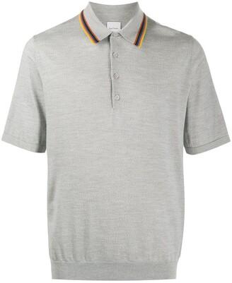 Paul Smith Contrast Trim Polo Shirt