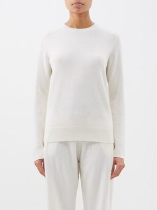 Lisa Yang - Diana Round-neck Cashmere Sweater - Cream