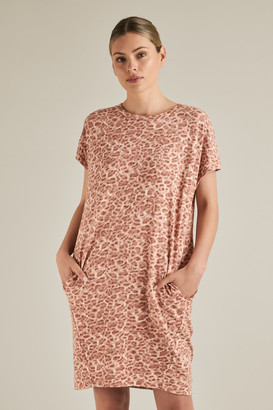 Seed Heritage Animal Jersey Dress