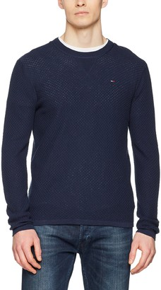 Tommy Jeans Men's Essential Sweater Short Sleeve Jumper
