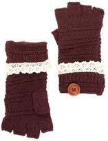 Rampage Fingerless Crochet Gloves
