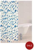 Sabichi Blue Poppy Shower Curtain