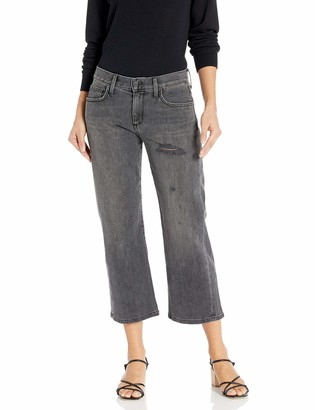 Siwy Women's Maria Luisa Parallel Leg Jeans in Black Cadillac 30