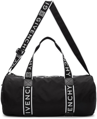 Givenchy Black Gym Duffle Bag