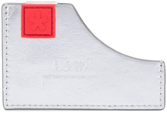 A-Cold-Wall* Diecut asymmetric embossed logo wallet