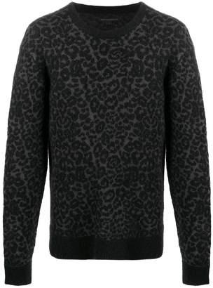 John Varvatos knitted jumper