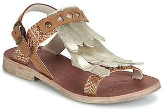 GBB ACARO girls's Sandals in Brown