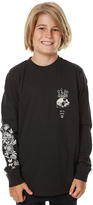 Billabong Kids Boys Paradiso Ls Tee Black