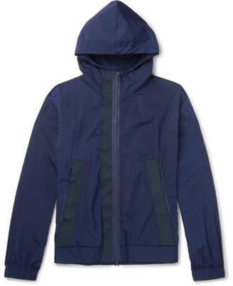 Barena Webbing-Trimmed Shell Hooded Jacket