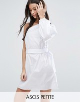 Asos Extreme One Shoulder Cotton Mini Dress