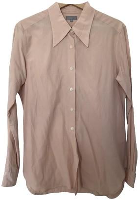 Margaret Howell Pink Silk Tops