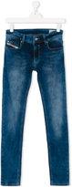 Diesel regular jeans - kids - Cotton/Polyester/Spandex/Elastane - 16 yrs