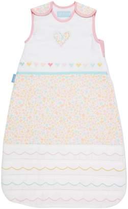 Grobag 2.5 Tog Hearts and Butterfly Print Sleeping Bag