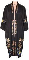 Petite reversible kimono jacket